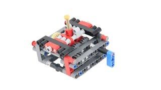 getlinkyoutube.com-BUILD: Lego technic 4 speed gearbox/ intructions