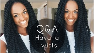 getlinkyoutube.com-Crochet Havana Twists Nighttime Routine, Washing Instructions etc. | Q&A