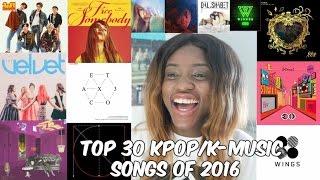 getlinkyoutube.com-KPOP FAVES OF 2016: Top 30 Songs, Favourite Albums, Comebacks & More