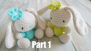 getlinkyoutube.com-(crochet) Pt1: How To Crochet an Amigurumi Rabbit - Yarn Scrap Friday