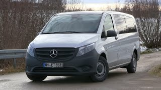 getlinkyoutube.com-2015 Mercedes Benz Vito Tourer 116 CDI (163 HP) Test Drive