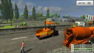 CHANTIER / TP /TRAVAUX PUBLIC / farming simulator 2013