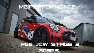 getlinkyoutube.com-MG|Performance - F56 JCW | Stage 2 / 305 PS / FAQ / Pipercross