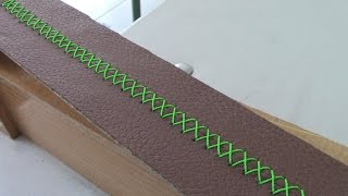 LEATHER STEERING-WHEEL - Cross-Stitch Pattern - TUTORIAL