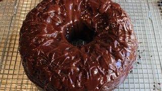 getlinkyoutube.com-Chocolate Sour Cream Bundt Cake - Easiest Chocolate Cake Recipe Ever!