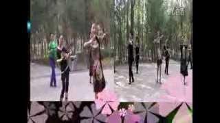 getlinkyoutube.com-Long braid girl danced happily