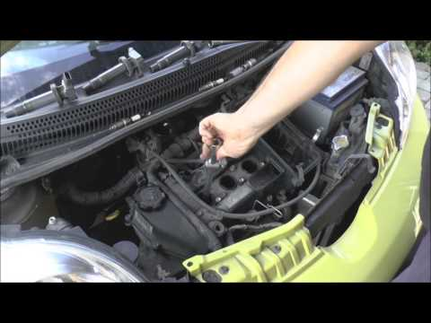 How to replace spark plugs - 1.0 12V - 1KR-FE - Aygo, Yaris, C1, 107, Sirion, Cuore
