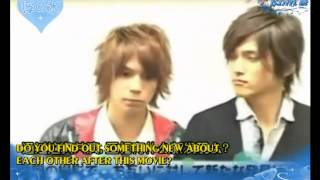 getlinkyoutube.com-[Esub] Interview of Watanabe Daisuke and Hamao Kyosuke in Takumi-kun 2