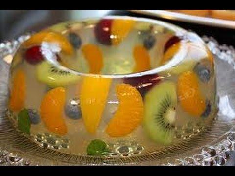 Cómo preparar Gelatinas Artísticas, paso a paso / Recipe of art jellies