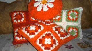 getlinkyoutube.com-Almohadones Crochet