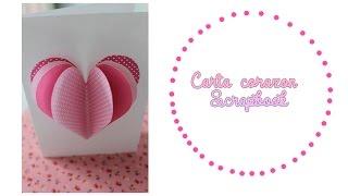getlinkyoutube.com-Carta corazón scrapbook ( 14 de febrero )