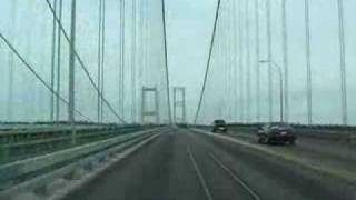 getlinkyoutube.com-Narrows Bridge Collapse With Sound Rare