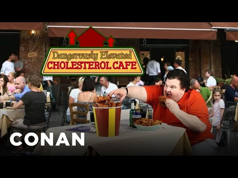 The Heart Attack Grill Has Major Competition - CONAN on TBS