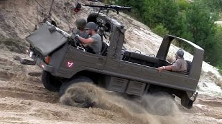 getlinkyoutube.com-Perfect offroad - Army Pinzgauer Light Utility Vehicle 4x4