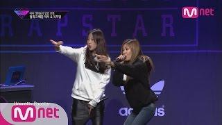 getlinkyoutube.com-[Unpretty Rapstar]ep.06: Jessi & Jidam @ team work battle(′내 존재 자체가 니들한테 불법!′ 제시&지담)