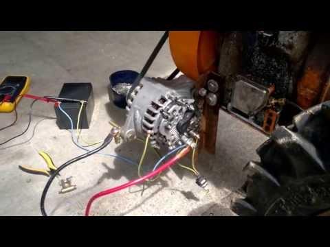 Test riparazione alternatore opel zafira, astra, Fiat croma, ecc...