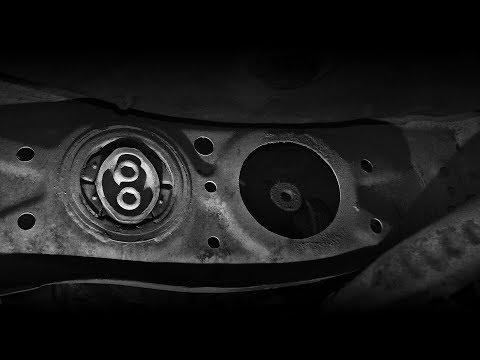 Toyota Mark 2/Замена сайлентблока редуктора