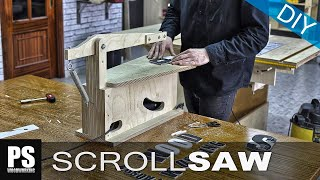 getlinkyoutube.com-Make your own Scroll Saw (part1)