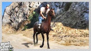 getlinkyoutube.com-HOW TO GET A HORSE IN GRAND THEFT AUTO 5!!