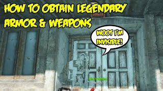 getlinkyoutube.com-Fallout 4: How To Find Chameleon Armor (Like Chinese Stealth Suit) & Other Legendary Weapons/Armors
