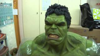 """getlinkyoutube.com-Hot Toys 1/6 Scale The Avengers HULK 16.5"""" Collectible Figure In Stock Now"""