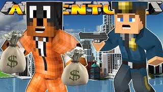 getlinkyoutube.com-DONUT BECOMES A CRIMINAL!! - Minecraft - Little Donny Adventures.