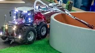 RC tractor CLAAS Xerion by Siku Control in ACTION at Hof-Mohr!