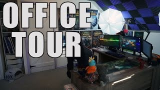 getlinkyoutube.com-Office Tour | PC, Peripherals, Equipment & Collections | August 2016