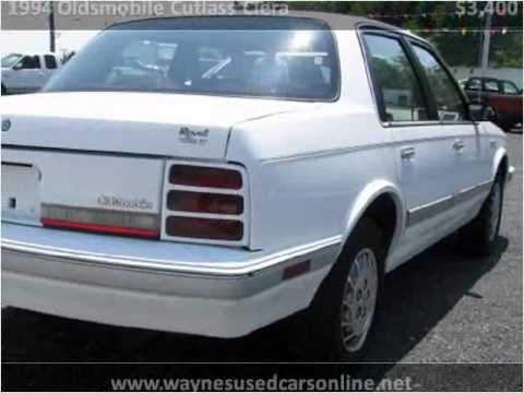 1994 oldsmobile cutlass ciera troubleshooting