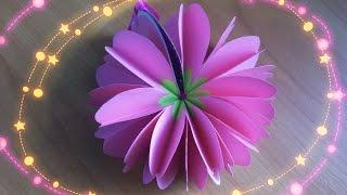 getlinkyoutube.com-Как Сделать Блокнот Сердце Цветок. Подарок  Своими Руками. Подробный Мастер Класс