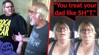 Tina Dandridge ATTACKS Angry Grandpa & KidBehindACamera! Tina Taken Out Of TheAngryGrandpaShow!