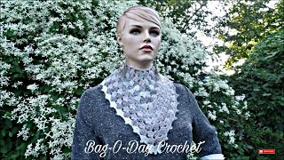 CROCHET How To #Crochet Shells and Picots Cowl Scarf #TUTORIAL #333 LEARN CROCHET