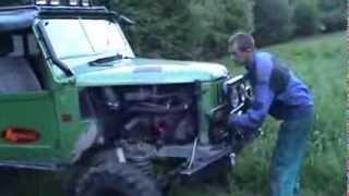 getlinkyoutube.com-ГАЗ 69 ТУРБО мотор 3 литра  Экстрим 4х4