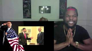 getlinkyoutube.com-Barack Obama Back To Back Donald Trump Diss Reaction & Thoughts