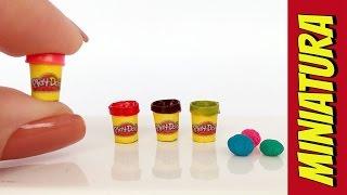 getlinkyoutube.com-Como fazer Mini Massinha Play-Doh para Barbie e Outras Bonecas!