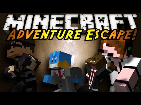 Minecraft Mini-Game : ADVENTURE ESCAPE!