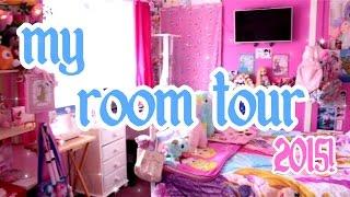 getlinkyoutube.com-♡ My Kawaii Disney-fied Room Tour 2015~! ♡ | Abipop