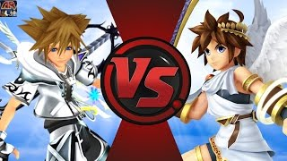 getlinkyoutube.com-SORA vs PIT (Kingdom Hearts vs Kid Icarus)! Cartoon Fight Club Episode 124