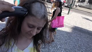 getlinkyoutube.com-Anything for money 1 - Shaved head (Za prachy cokoli 1)