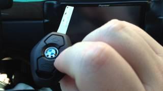 getlinkyoutube.com-How to program / setup a new BMW E46 key fob 330 325
