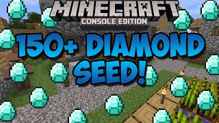 getlinkyoutube.com-Minecraft Xbox & Playstation: TONS OF DIAMONDS SEED! 150+ Diamonds! | [Xbox 360, Xbox One, PS3, PS4]