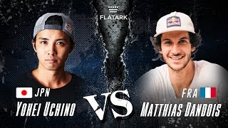 "getlinkyoutube.com-FLAT ARK 2016 ""FINAL BATTLE"" Yohei Uchino VS Matthias Dandois"