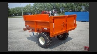 getlinkyoutube.com-Berkelmans Welding 2 Ton Farm Dump Trailer -  Canadian Made 2013
