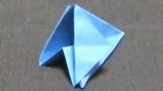 getlinkyoutube.com-初めて本気でツルを折る【折り紙】