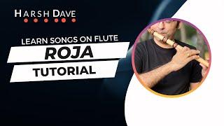 getlinkyoutube.com-Roja or Kadhal Rojave Tutorial | Mani Ratnam | A R Rehman | Kali 2 Flute