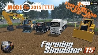 getlinkyoutube.com-Farming Simulator 2015 #Map Les petits travaux/Construction/sand/dirt/gravel/Beton