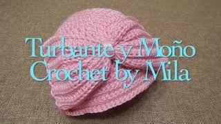 getlinkyoutube.com-Gorra Fácil Turbante  Crochet