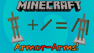 getlinkyoutube.com-Armed Armor Stands! -Minecraft Command Block MiniConcept