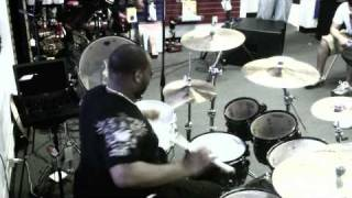 Crush Drums - BRENT EASTON Drum Solo