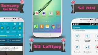 getlinkyoutube.com-S5 Mini Lollipop Port ROM V4 for Galaxy S4 mini